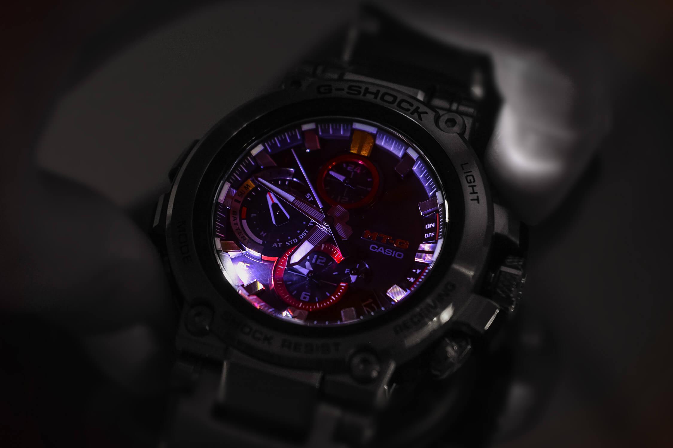 подсветка casio MTG B1000D-1AER