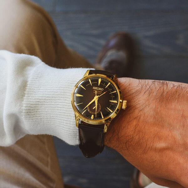 Мужские наручные часы SEIKO Presage Cocktail Time Old Fashioned Limited Edition SSA392J1 - Фото № 12
