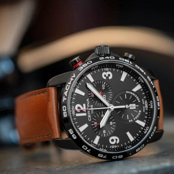 Мужские наручные часы CERTINA Sport DS Podium Chronograph 1/100 sec C001.647.36.057.00 - Фото № 9