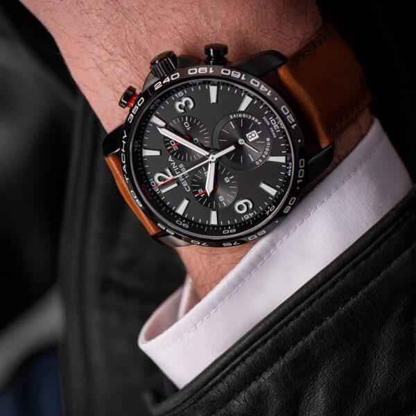 Мужские наручные часы CERTINA Sport DS Podium Chronograph 1/100 sec C001.647.36.057.00 - Фото № 10