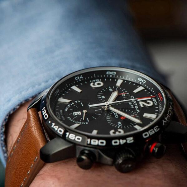 Мужские наручные часы CERTINA Sport DS Podium Chronograph 1/100 sec C001.647.36.057.00 - Фото № 11