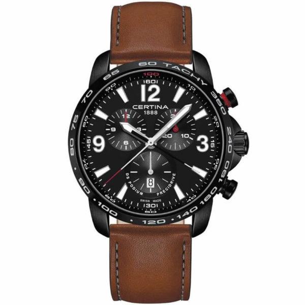 Мужские наручные часы CERTINA Sport DS Podium Chronograph 1/100 sec C001.647.36.057.00 - Фото № 6
