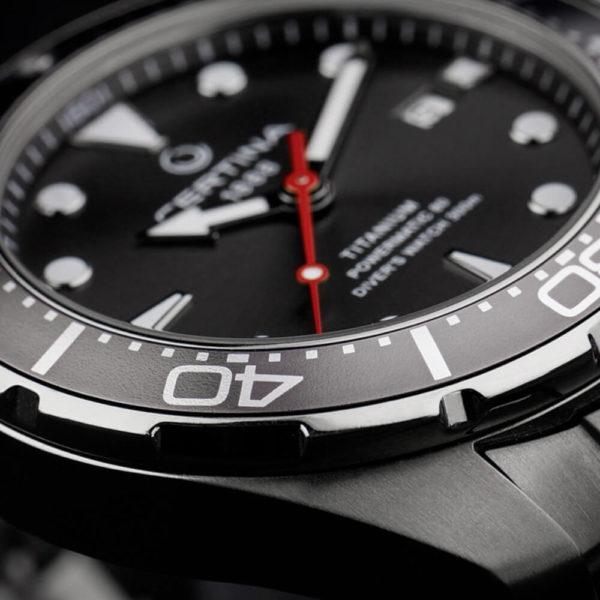 Мужские наручные часы CERTINA Aqua DS Action Diver Powermatic 80 C032.407.44.081.00 - Фото № 9