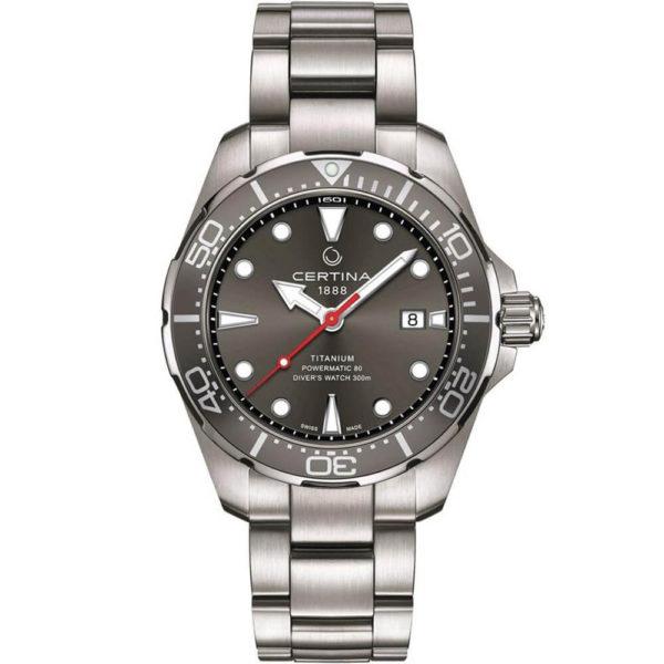 Мужские наручные часы CERTINA Aqua DS Action Diver Powermatic 80 C032.407.44.081.00 - Фото № 5