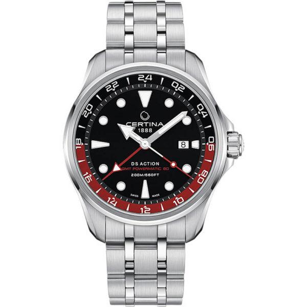 Мужские наручные часы CERTINA Aqua DS Action GMT Powermatic 80 C032.429.11.051.00