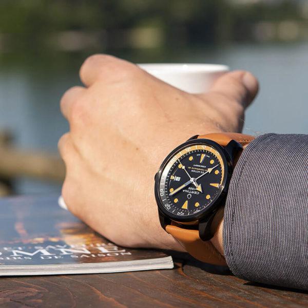 Мужские наручные часы CERTINA Aqua DS Action GMT Powermatic 80 C032.429.36.051.00 - Фото № 7