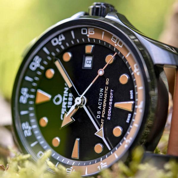 Мужские наручные часы CERTINA Aqua DS Action GMT Powermatic 80 C032.429.36.051.00 - Фото № 8