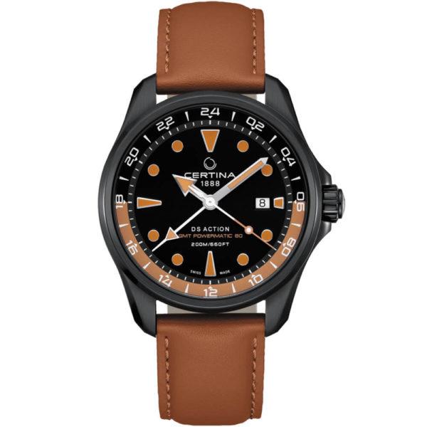 Мужские наручные часы CERTINA Aqua DS Action GMT Powermatic 80 C032.429.36.051.00 - Фото № 5
