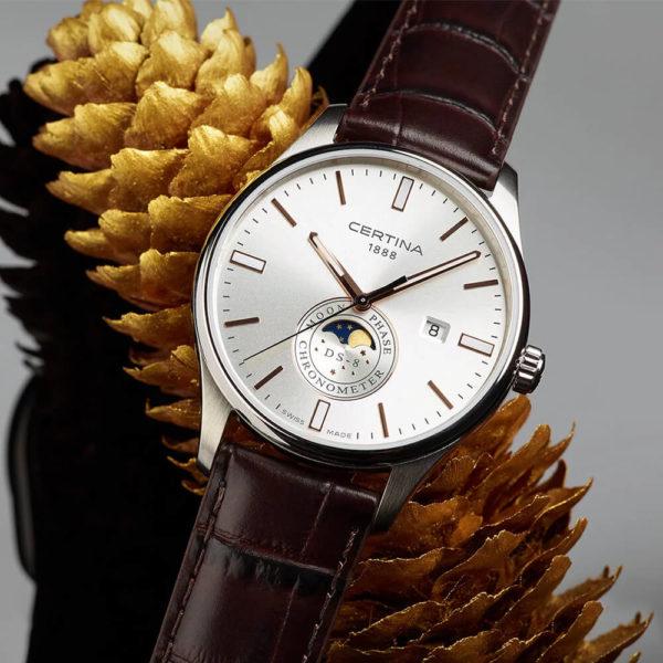 Мужские наручные часы CERTINA Urban DS-8 Moon Phase C033.457.16.031.00 - Фото № 6