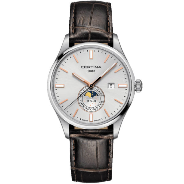 Мужские наручные часы CERTINA Urban DS-8 Moon Phase C033.457.16.031.00 - Фото № 4