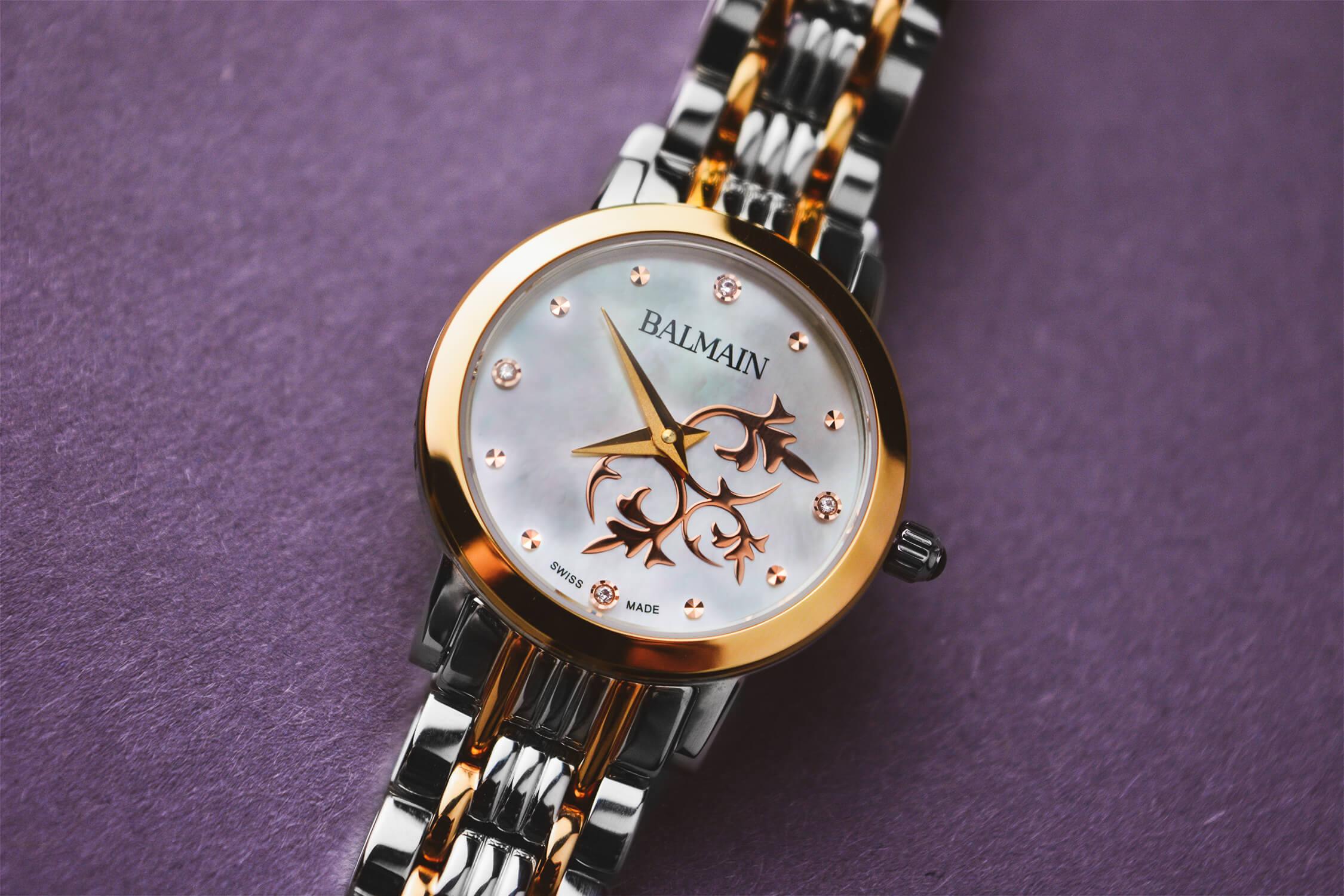 швейцарские часы balmain orithia 4698.33.83