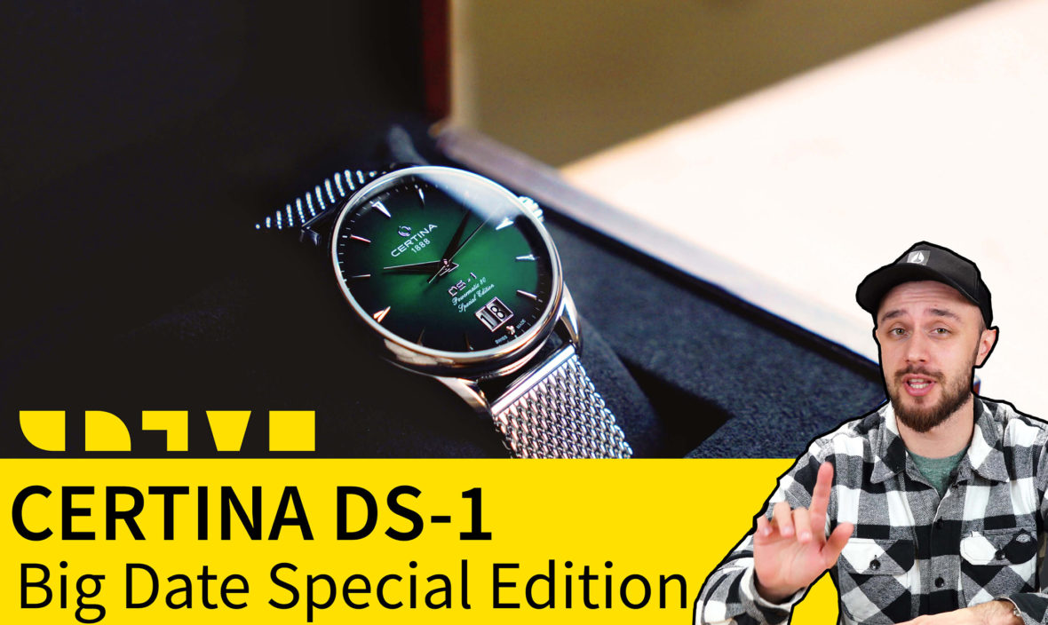 Certina Heritage DS-1 Big Date Special Edition