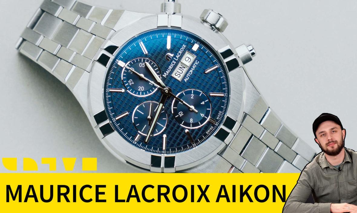 maurice lacroix chronograph AI6038-SS002-430-1