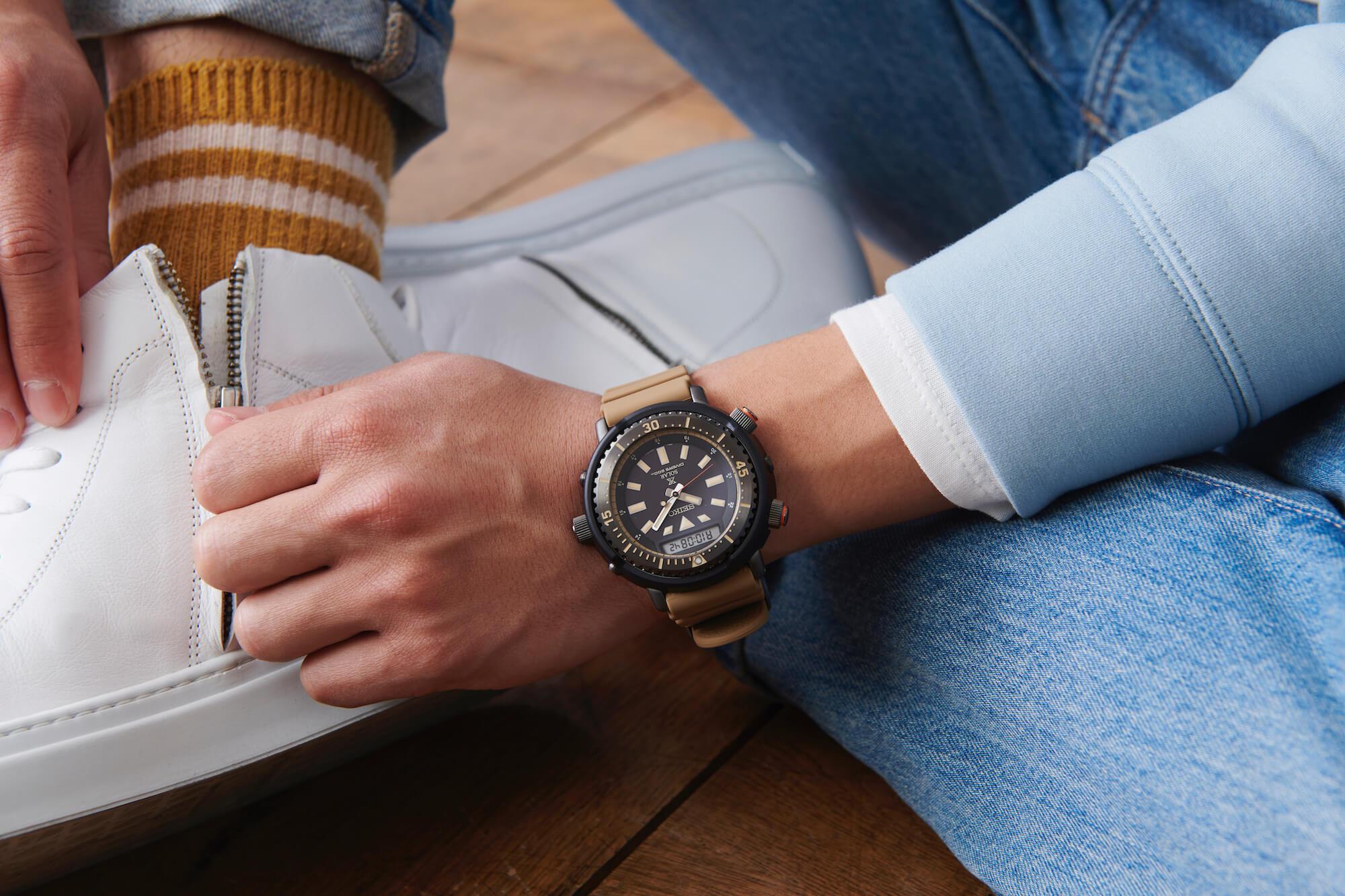 часы seiko prospex urban safari SNJ029