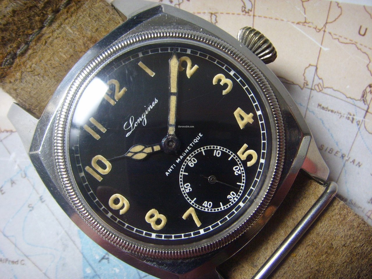 Longines antimagnetique