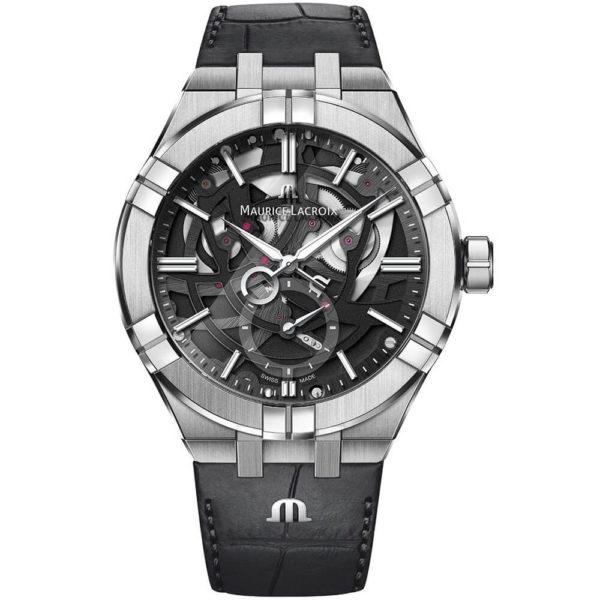 Мужские наручные часы MAURICE LACROIX Aikon Automatic Mercury AI6088-SS002-030-1 - Фото № 6
