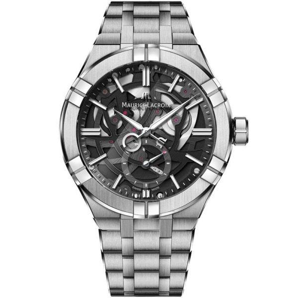 Мужские наручные часы MAURICE LACROIX Aikon Automatic Mercury AI6088-SS002-030-1 - Фото № 4