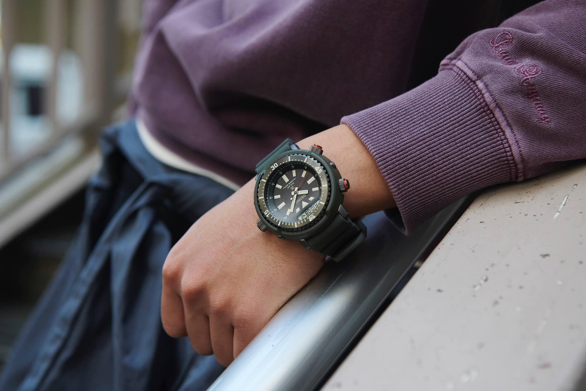 часы seiko prospex urban safari SNJ031