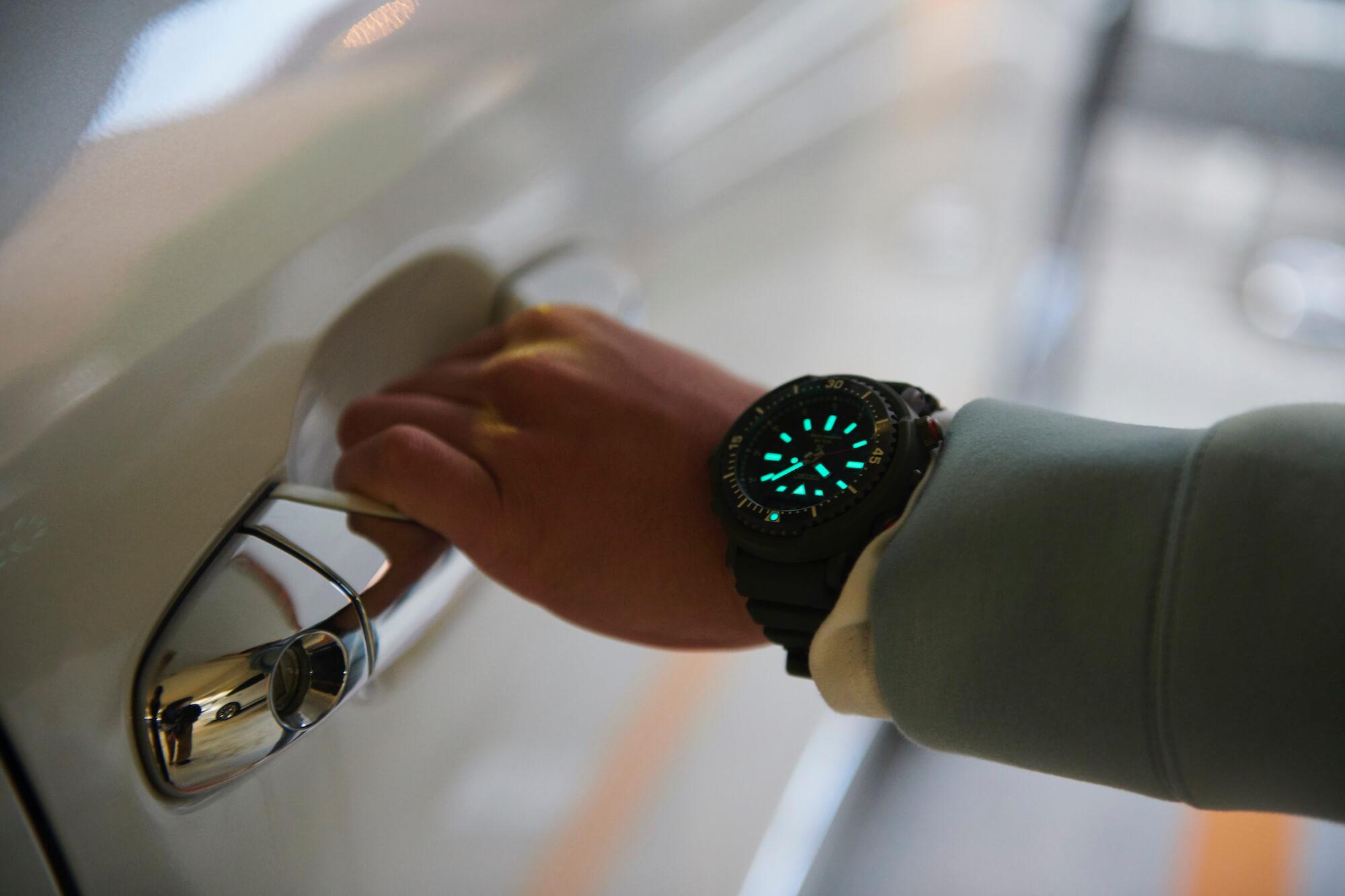 часы seiko prospex urban safari