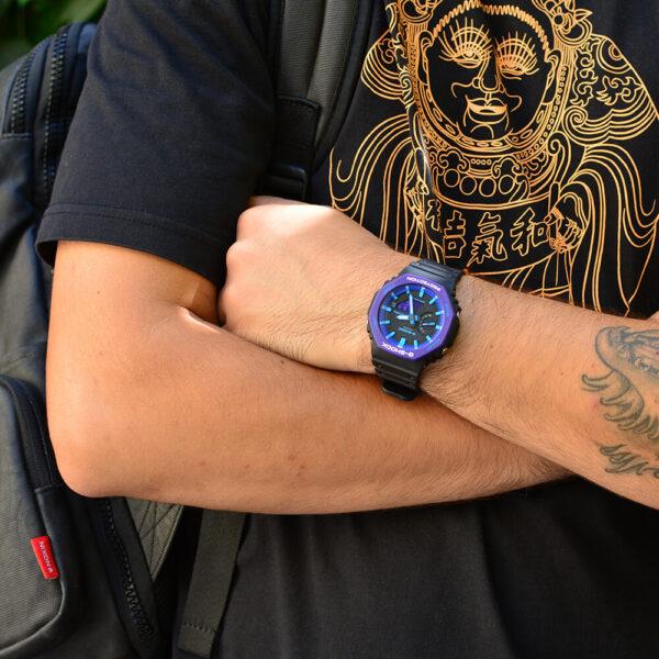 Мужские наручные часы CASIO G-Shock GA-2100THS-1AER - Фото № 8