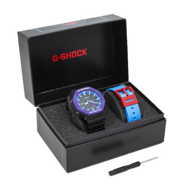 Мужские наручные часы CASIO G-Shock GA-2100THS-1AER - Фото № 11