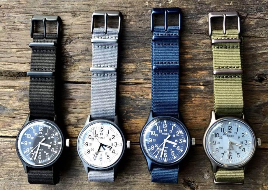 timex field watch