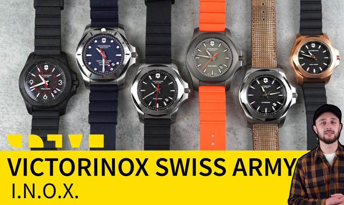 victorinox swiss army inox