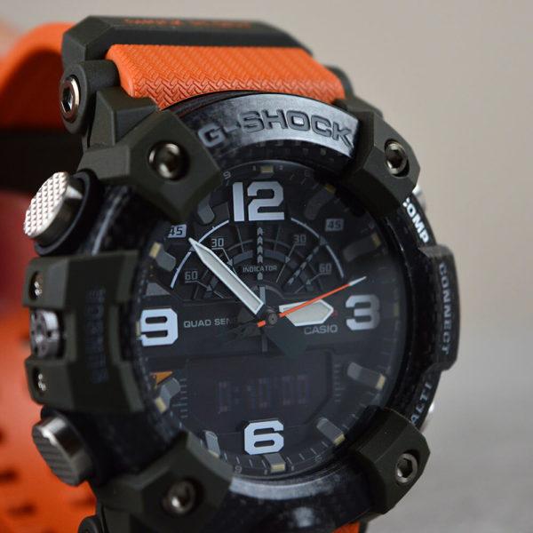 Мужские наручные часы CASIO G-Shock Mudmaster GG-B100-1A9ER - Фото № 14