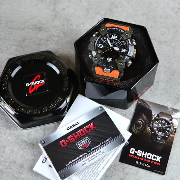 Мужские наручные часы CASIO G-Shock Mudmaster GG-B100-1A9ER - Фото № 17