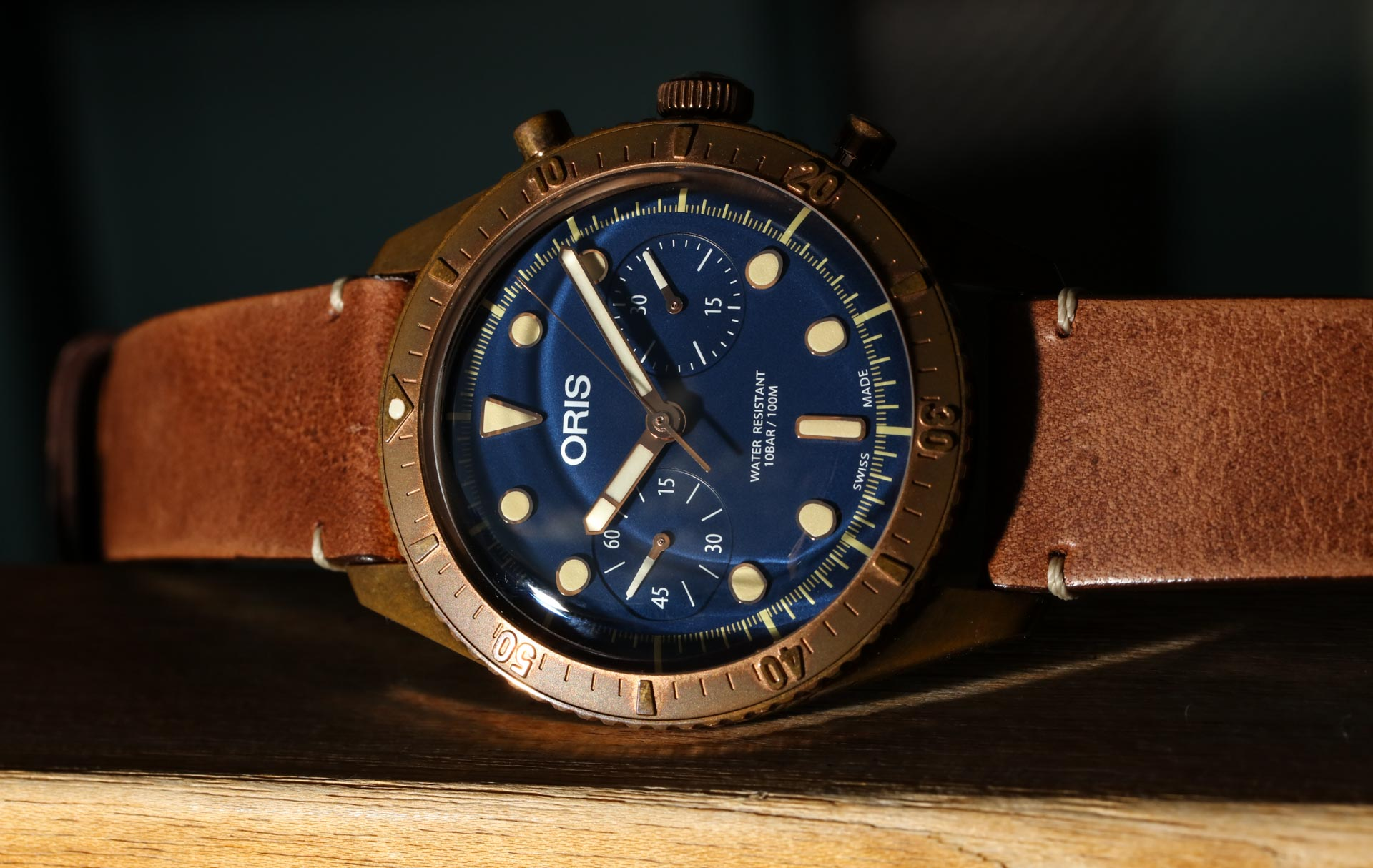 Oris Carl Brashear Chronograph-Limited Edition Bronze