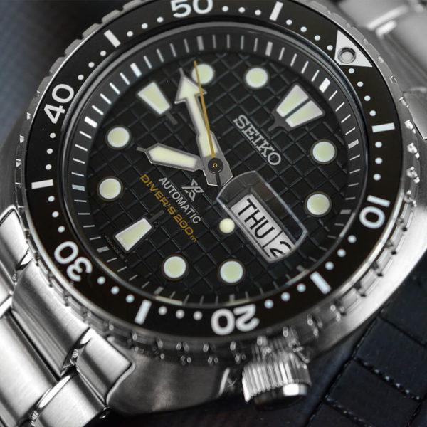 Мужские наручные часы SEIKO Prospex King Turtle SRPE03K1 - Фото № 14
