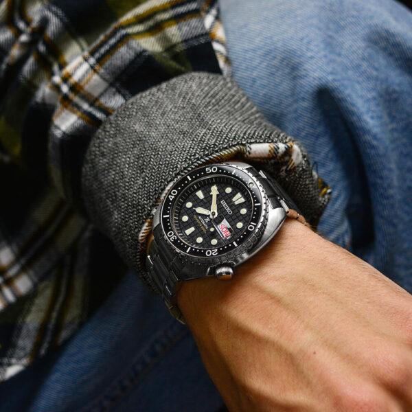 Мужские наручные часы SEIKO Prospex King Turtle SRPE03K1 - Фото № 11