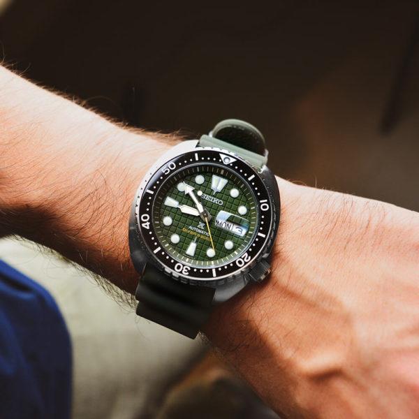 Мужские наручные часы SEIKO Prospex King Turtle SRPE05K1 - Фото № 10