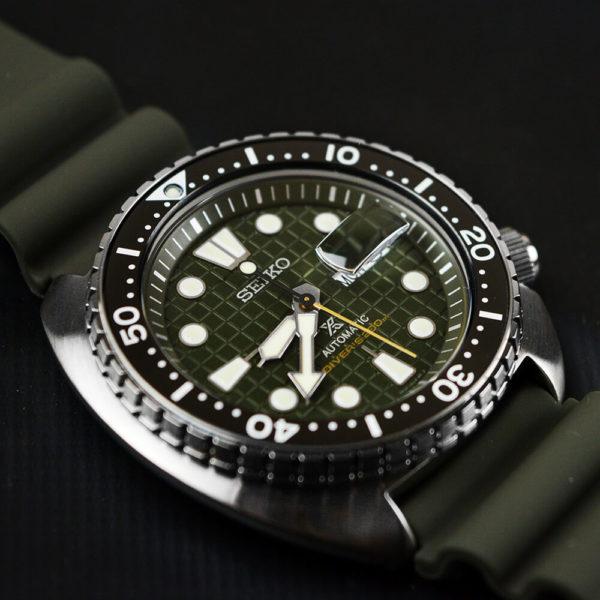 Мужские наручные часы SEIKO Prospex King Turtle SRPE05K1 - Фото № 11