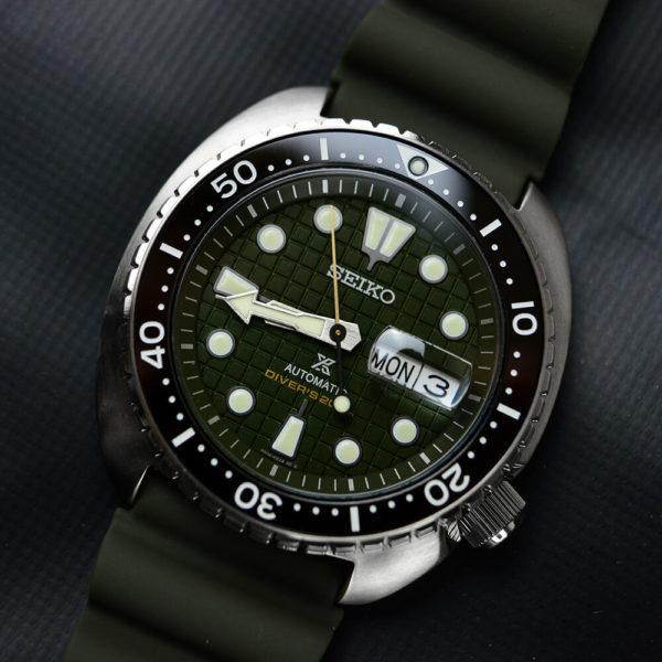 Мужские наручные часы SEIKO Prospex King Turtle SRPE05K1 - Фото № 9