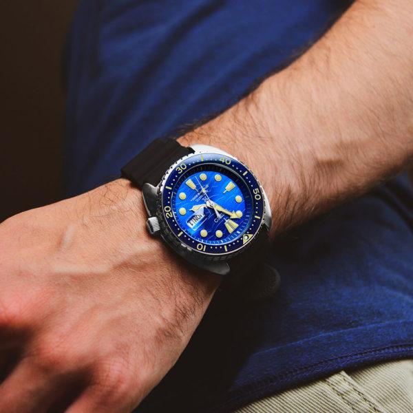 Мужские наручные часы SEIKO Prospex King Turtle SRPE07K1 - Фото № 10
