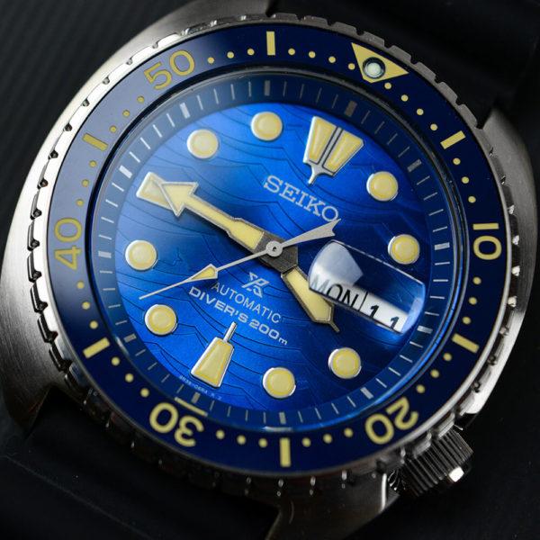 Мужские наручные часы SEIKO Prospex King Turtle SRPE07K1 - Фото № 12