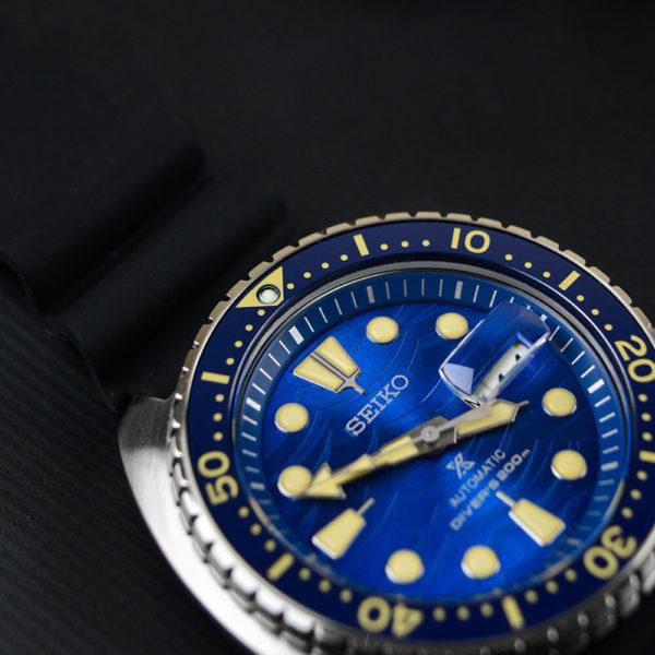 Мужские наручные часы SEIKO Prospex King Turtle SRPE07K1 - Фото № 13