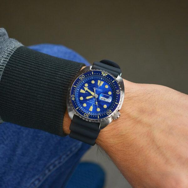 Мужские наручные часы SEIKO Prospex King Turtle Save the Ocean Great White Shark SRPE07K1 - Фото № 11