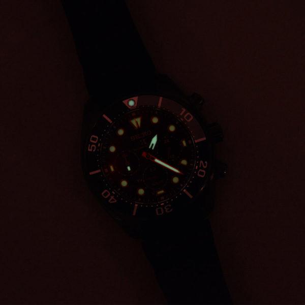 Мужские наручные часы SEIKO Prospex Sumo The Black Series Limited Edition SSC761J1 - Фото № 11