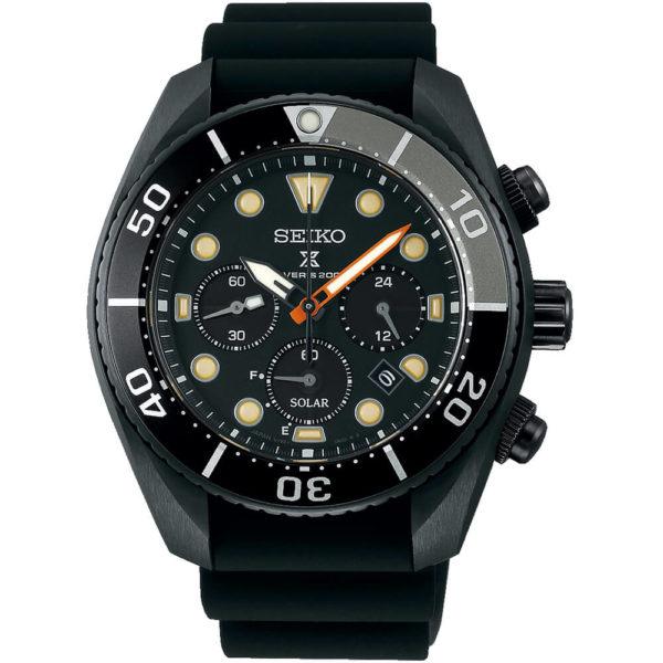 Мужские наручные часы SEIKO Prospex Sumo The Black Series Limited Edition SSC761J1 - Фото № 6