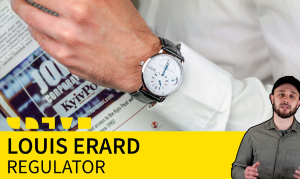 louis erard regulator