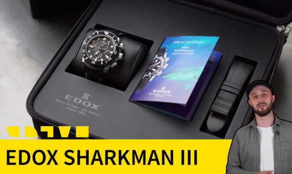 EDOX CO-1 SHARKMAN III Limited Edition 10241 TIB NIN