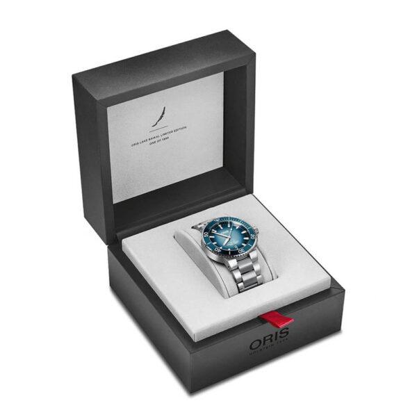 Мужские наручные часы ORIS AQUIS Lake Baikal Limited Edition 01 733 7730 4175-Set - Фото № 13