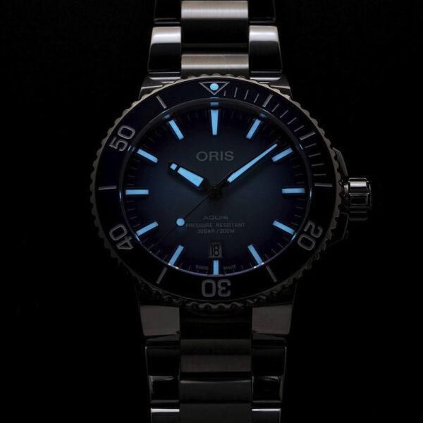 Мужские наручные часы ORIS AQUIS Lake Baikal Limited Edition 01 733 7730 4175-Set - Фото № 12
