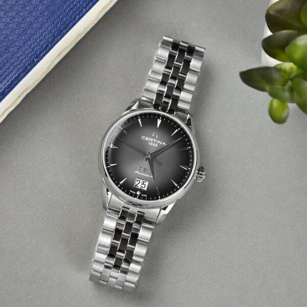 Мужские наручные часы CERTINA Heritage DS-1 Big Date Powermatic 80 C029.426.11.051.00 - Фото № 9
