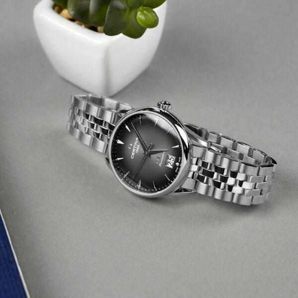 Мужские наручные часы CERTINA Heritage DS-1 Big Date Powermatic 80 C029.426.11.051.00 - Фото № 11