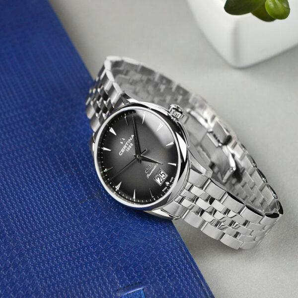 Мужские наручные часы CERTINA Heritage DS-1 Big Date Powermatic 80 C029.426.11.051.00 - Фото № 10