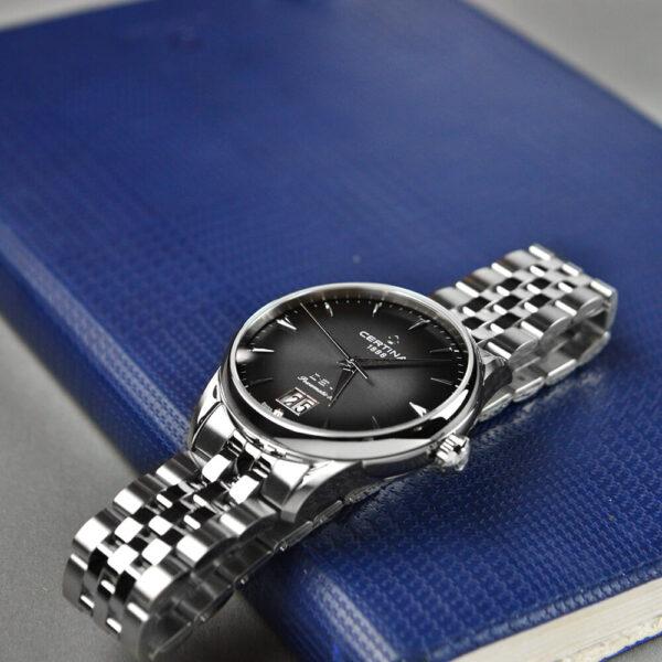 Мужские наручные часы CERTINA Heritage DS-1 Big Date Powermatic 80 C029.426.11.051.00 - Фото № 12