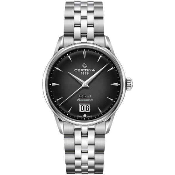 Мужские наручные часы CERTINA Heritage DS-1 Big Date Powermatic 80 C029.426.11.051.00 - Фото № 7